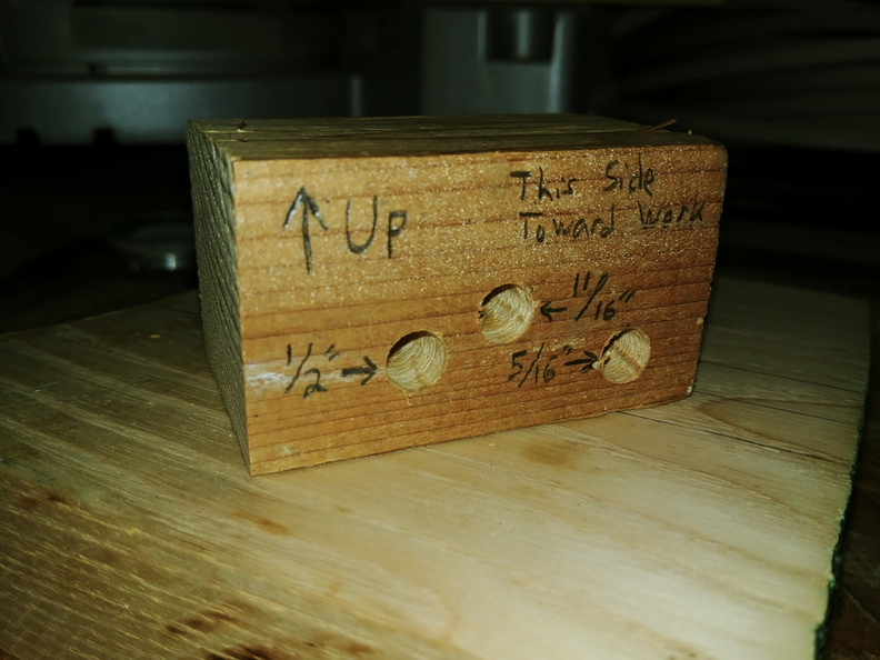 custom edge marking jig