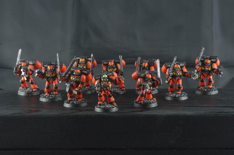 Angels Tigris - Assault Squad I with Jump Packs
